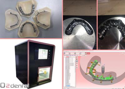 GO2dental - Titanium implant milling