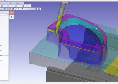 5 axis toolpath with barrel tools