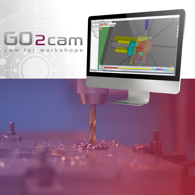 GO2cam Gun drilling