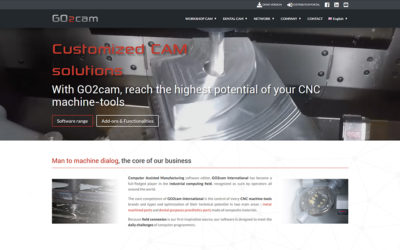 News : GO2cam new website