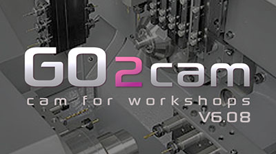 March 2021: Release of GO2cam V6.08